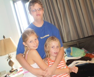 Logan and the girls