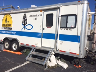 Disaster Relief Comms Trailer